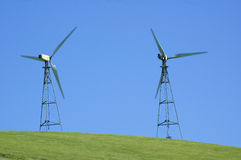 Wind generators in california Royalty Free Stock Image