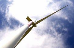 Wind generators ecology Stock Photo