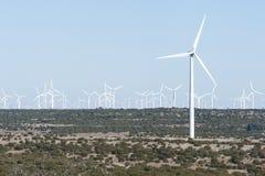 Wind Generators Royalty Free Stock Photo