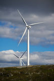 Wind generators Stock Photography