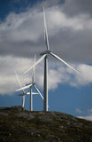 Wind generators Royalty Free Stock Photos