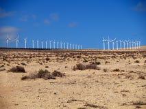 Wind generetors royalty free stock photography