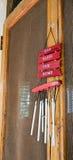 Wind-Glockenspiel Lizenzfreie Stockbilder