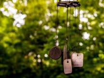 Wind-Glockenspiel-Erkennungsmarken Lizenzfreie Stockfotografie