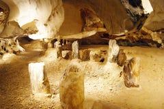 Wind-Höhlen von Borneo. Lizenzfreies Stockbild