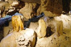 Wind-Höhlen von Borneo. Stockfoto