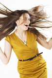 Wind in the hair Royalty Free Stock Photography