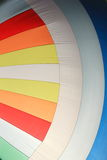 The wind has filled colorful spinnaker sail Royalty Free Stock Images