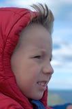 Wind in het gezicht Royalty-vrije Stock Fotografie