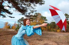 Wind, hurricane Royalty Free Stock Photography