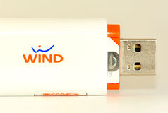 Wind internet Stock Photography