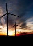 Wind-Leistung stockbilder