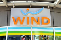 Wind Logo Royalty Free Stock Photography