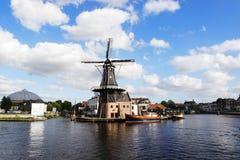 Wind-Mühle in den Niederlanden Lizenzfreies Stockbild