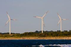 Wind macht Stock Afbeelding