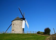 Wind mild. In France Brittany Royalty Free Stock Photo