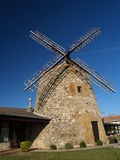 Wind mill. At algorta, evening time stock photo