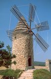 Wind Mill. On the Island of Majorca Royalty Free Stock Image