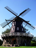 Wind Mill. Dutch windmill in south Sweden Royalty Free Stock Photos