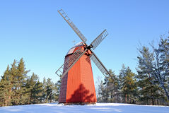 Wind mill Royalty Free Stock Image