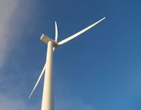 Wind Mill. Stand alone wind mill royalty free stock image