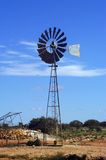 Wind mill in the Australian bush Royalty Free Stock Images