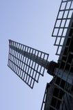 Wind mill blades Stock Photos