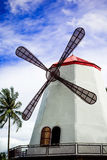 Wind mill with blue sky Stock Image