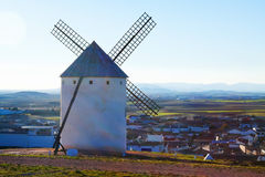 Wind mill at Campo de Criptana Royalty Free Stock Photography