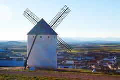 Wind mill at Campo de Criptana Royalty Free Stock Photography
