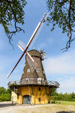 Wind Mill in Denmark Royalty Free Stock Photos