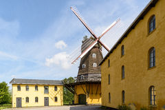 Wind Mill in Denmark Royalty Free Stock Images