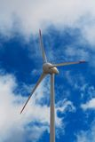 Wind mill electric generating plant Royalty Free Stock Photography