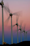 Wind mill and energy Stock Photo