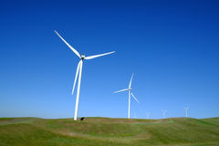 Wind mill in field Stock Photography