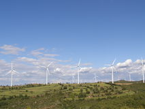 Wind Mill landscape Royalty Free Stock Image