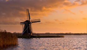 Wind Mill molen Netherlands Stock Image