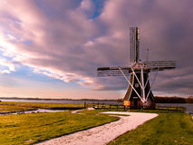 Wind Mill Netherlands Royalty Free Stock Image