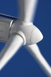 Wind mill power generator. Detail of wind mill power generator Stock Photo