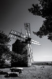 Wind mill in Provence Royalty Free Stock Photo