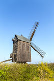 Wind mill of Pudalga baltic coast, Stock Image
