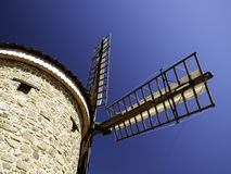 Wind mill stone Stock Images