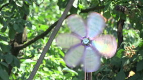 Wind mill toy stock video