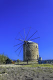 Wind mill. Traditional Old Windmill in Datca, Mugla Stock Photos