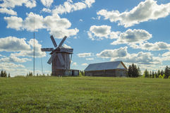Wind mill-type tent Royalty Free Stock Photos