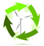 Wind mill wind power Royalty Free Stock Photo