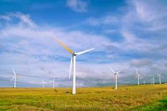 Wind mills Stock Photo