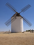 Wind mills. In Mota del Cuervo, Spain Stock Photography