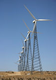Wind mills Royalty Free Stock Images