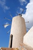 Wind mills in Crete Royalty Free Stock Photography